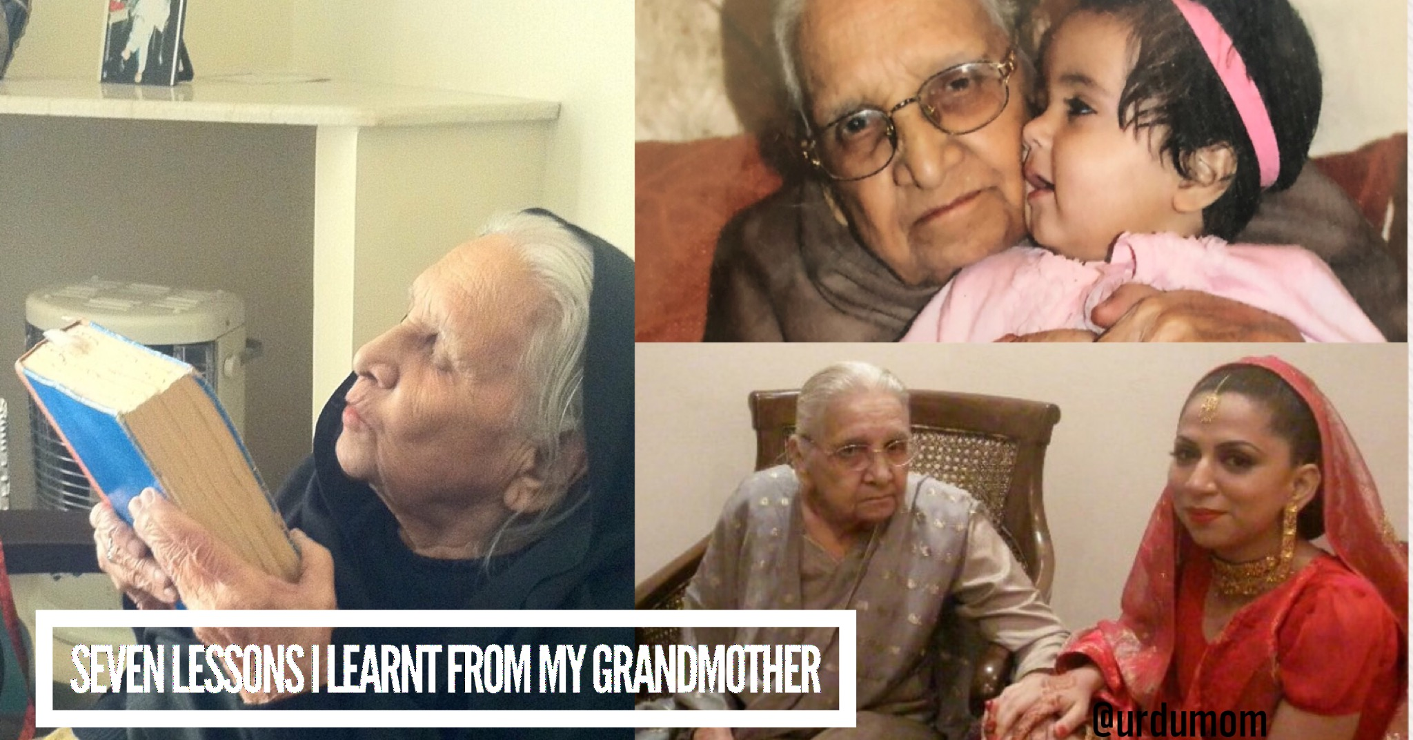 lessons I learnt from my grandmother