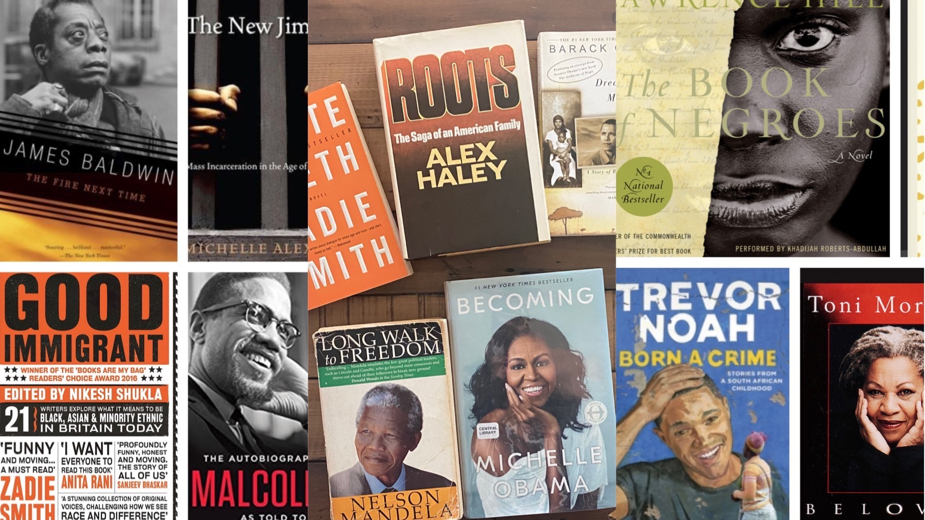 Books to read by Black authors #BlackLivesMatter