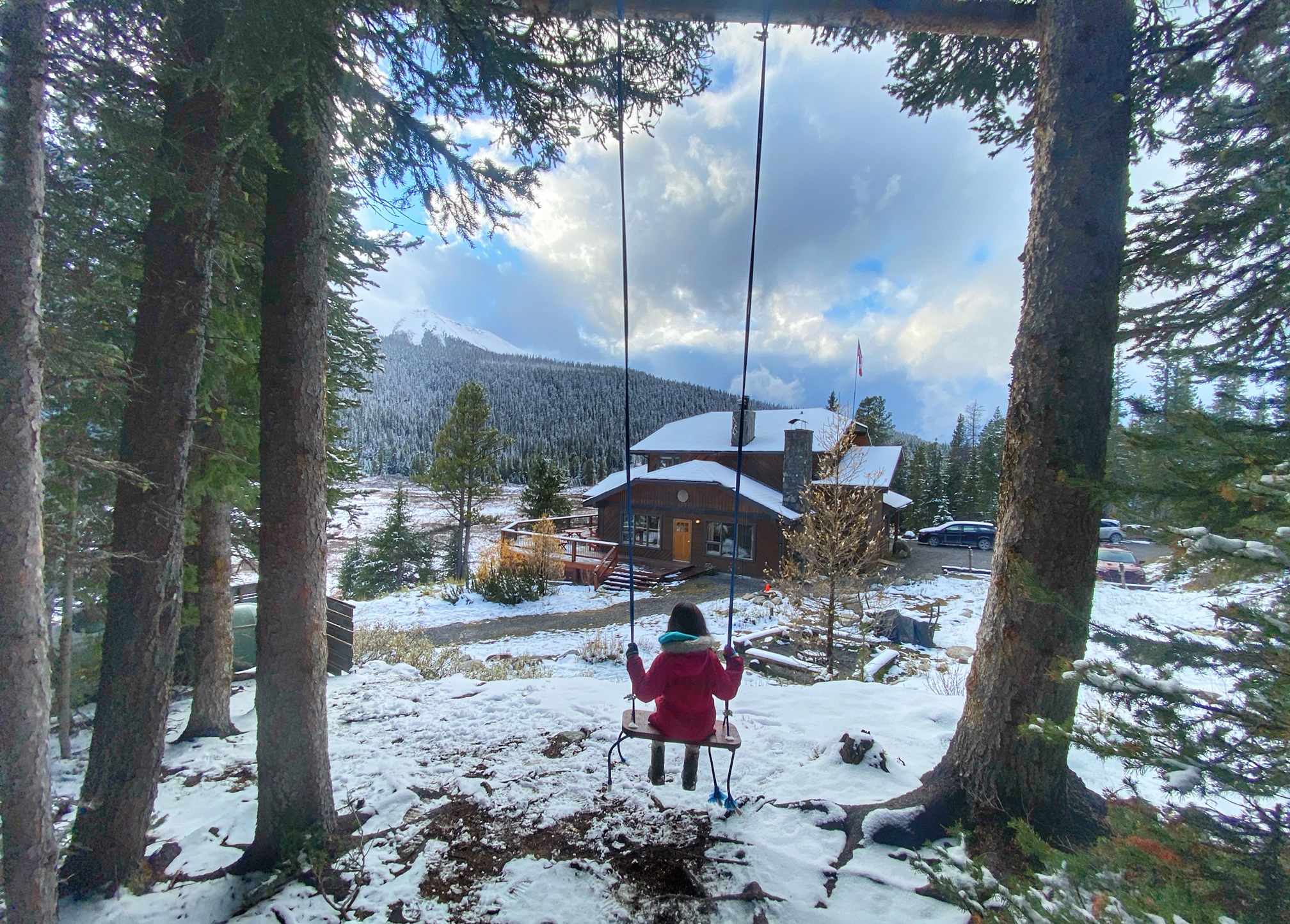 mount engadine lodge swing