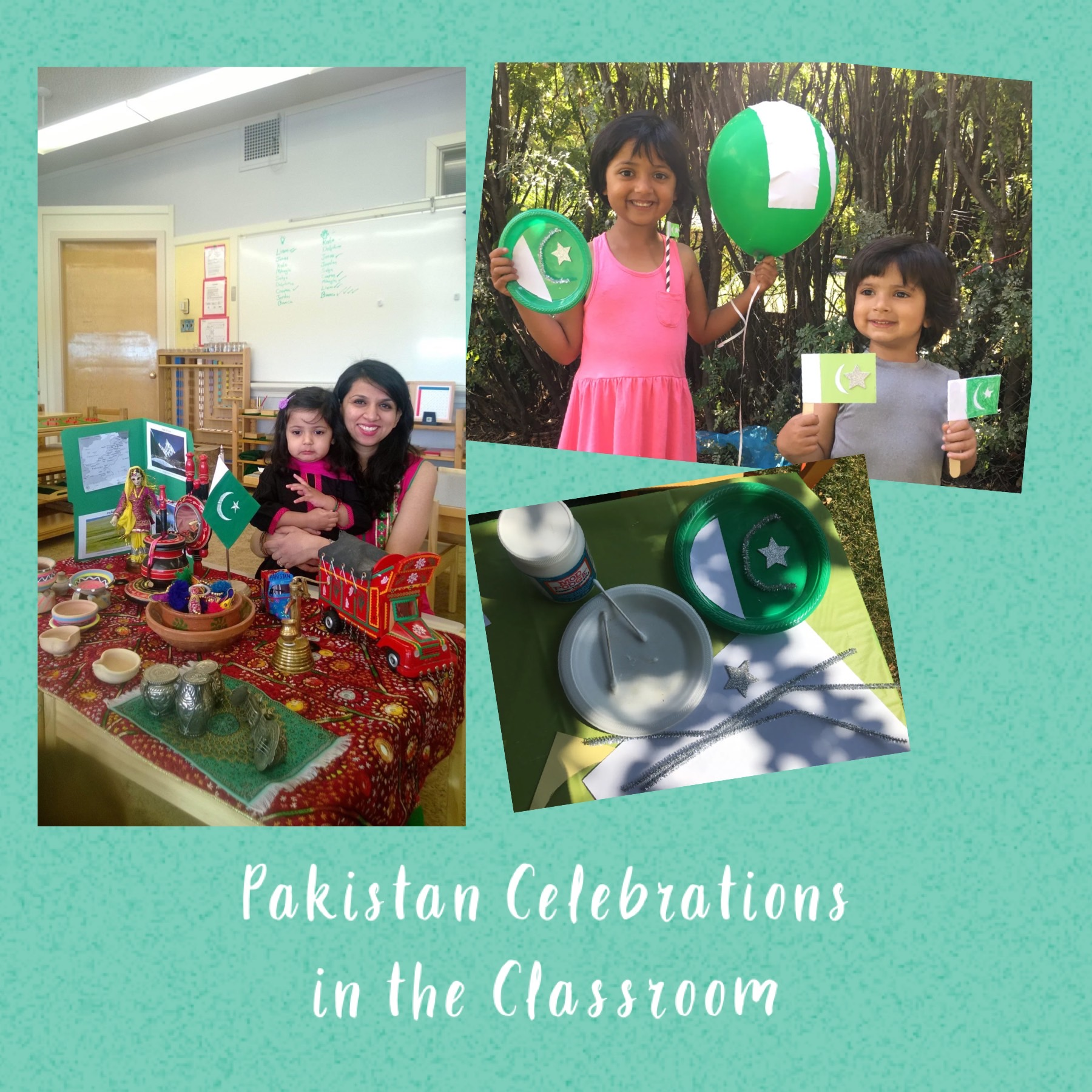 Pakistan presentation at school